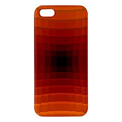 Orange Background Wallpaper Texture Lines Iphone 5s/ Se Premium Hardshell Case