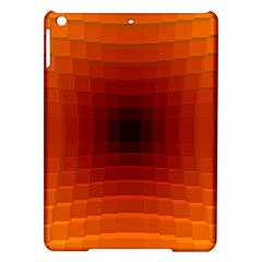 Orange Background Wallpaper Texture Lines Ipad Air Hardshell Cases