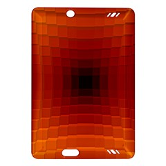 Orange Background Wallpaper Texture Lines Amazon Kindle Fire Hd (2013) Hardshell Case