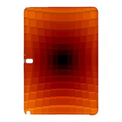 Orange Background Wallpaper Texture Lines Samsung Galaxy Tab Pro 12 2 Hardshell Case