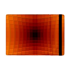 Orange Background Wallpaper Texture Lines Ipad Mini 2 Flip Cases