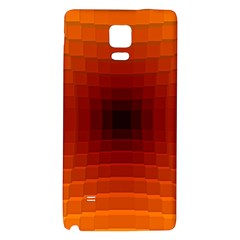 Orange Background Wallpaper Texture Lines Galaxy Note 4 Back Case