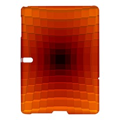 Orange Background Wallpaper Texture Lines Samsung Galaxy Tab S (10 5 ) Hardshell Case
