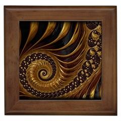 Fractal Spiral Endless Mathematics Framed Tiles