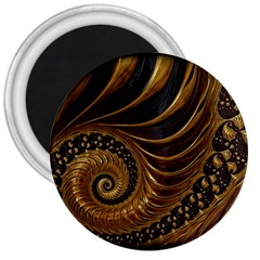 Fractal Spiral Endless Mathematics 3  Magnets