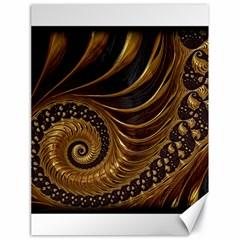 Fractal Spiral Endless Mathematics Canvas 18  X 24