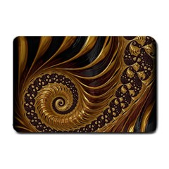 Fractal Spiral Endless Mathematics Small Doormat