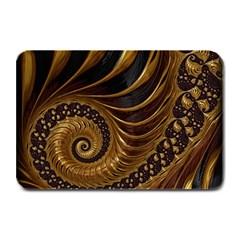 Fractal Spiral Endless Mathematics Plate Mats