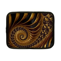 Fractal Spiral Endless Mathematics Netbook Case (small)