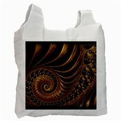 Fractal Spiral Endless Mathematics Recycle Bag (One Side)