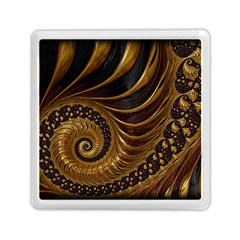 Fractal Spiral Endless Mathematics Memory Card Reader (square)