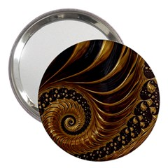 Fractal Spiral Endless Mathematics 3  Handbag Mirrors