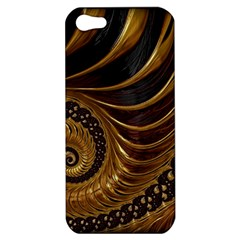 Fractal Spiral Endless Mathematics Apple Iphone 5 Hardshell Case