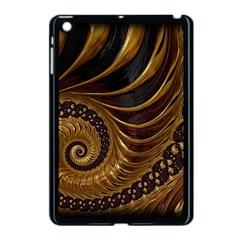 Fractal Spiral Endless Mathematics Apple Ipad Mini Case (black)