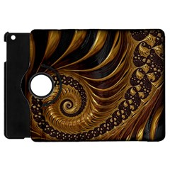 Fractal Spiral Endless Mathematics Apple Ipad Mini Flip 360 Case
