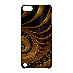 Fractal Spiral Endless Mathematics Apple Ipod Touch 5 Hardshell Case With Stand