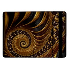 Fractal Spiral Endless Mathematics Samsung Galaxy Tab Pro 12 2  Flip Case