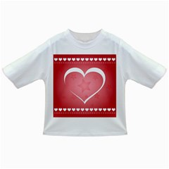 Postcard Banner Heart Holiday Love Infant/Toddler T-Shirts
