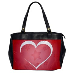 Postcard Banner Heart Holiday Love Office Handbags