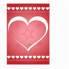 Postcard Banner Heart Holiday Love Large Garden Flag (two Sides)