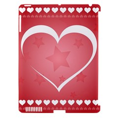 Postcard Banner Heart Holiday Love Apple Ipad 3/4 Hardshell Case (compatible With Smart Cover)