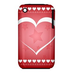 Postcard Banner Heart Holiday Love Iphone 3s/3gs