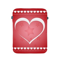Postcard Banner Heart Holiday Love Apple Ipad 2/3/4 Protective Soft Cases
