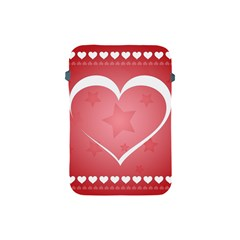 Postcard Banner Heart Holiday Love Apple Ipad Mini Protective Soft Cases