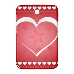 Postcard Banner Heart Holiday Love Samsung Galaxy Note 8 0 N5100 Hardshell Case