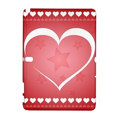 Postcard Banner Heart Holiday Love Galaxy Note 1