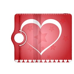Postcard Banner Heart Holiday Love Kindle Fire Hdx 8 9  Flip 360 Case
