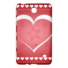 Postcard Banner Heart Holiday Love Samsung Galaxy Tab 4 (7 ) Hardshell Case