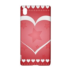 Postcard Banner Heart Holiday Love Sony Xperia Z3+