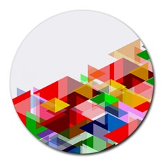 Graphics Cover Gradient Elements Round Mousepads