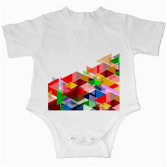 Graphics Cover Gradient Elements Infant Creepers