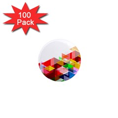 Graphics Cover Gradient Elements 1  Mini Magnets (100 Pack)