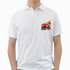 Graphics Cover Gradient Elements Golf Shirts