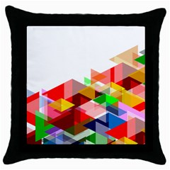 Graphics Cover Gradient Elements Throw Pillow Case (black)