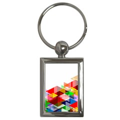 Graphics Cover Gradient Elements Key Chains (rectangle)