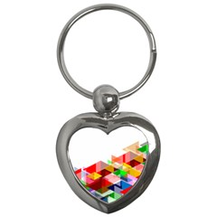 Graphics Cover Gradient Elements Key Chains (heart)