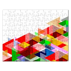 Graphics Cover Gradient Elements Rectangular Jigsaw Puzzl