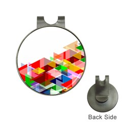 Graphics Cover Gradient Elements Hat Clips With Golf Markers