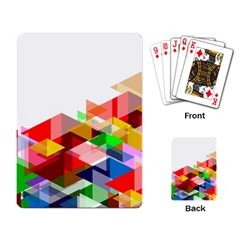 Graphics Cover Gradient Elements Playing Card
