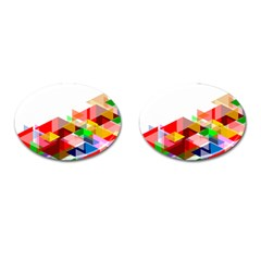 Graphics Cover Gradient Elements Cufflinks (oval)