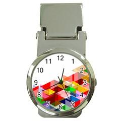 Graphics Cover Gradient Elements Money Clip Watches