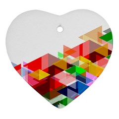 Graphics Cover Gradient Elements Heart Ornament (two Sides)