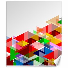 Graphics Cover Gradient Elements Canvas 8  X 10