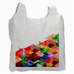 Graphics Cover Gradient Elements Recycle Bag (two Side)