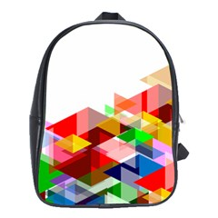 Graphics Cover Gradient Elements School Bags(large)