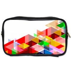 Graphics Cover Gradient Elements Toiletries Bags